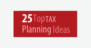 25 Top Tax Planning Ideas