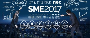 Fraser Russell at the SME 2017 Event – NEC